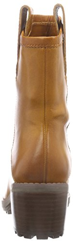 Clarks Maroda Faith Damen Kurzschaft Stiefel Braun (Dark Tan Lea)
