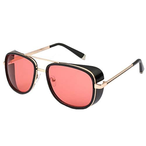 Aisoway Samjune Iron Man 3 Matsuda TONY Stark Sonnenbrillen Herren Rossi Beschichtung Retro Vintage Designer Sonnenbrillen