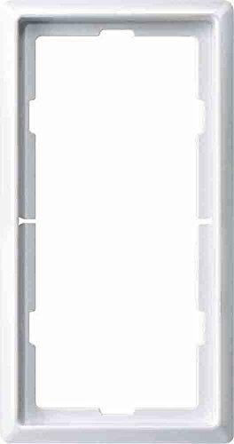 Merten 481819 ARTEC-Rahmen 2-fach o. m.telsteg polarweiss System Fläche