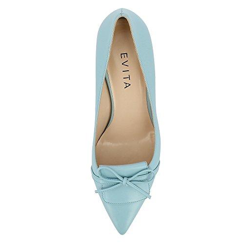 Evita Shoes Giulia, Scarpe col tacco donna Turchese