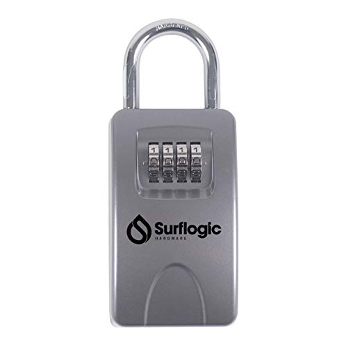 Surf Logic Key Security Lock Maxi/Key Safe - Silver