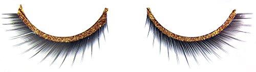 stliche Wimpern Glitter Stripes - Gold ()