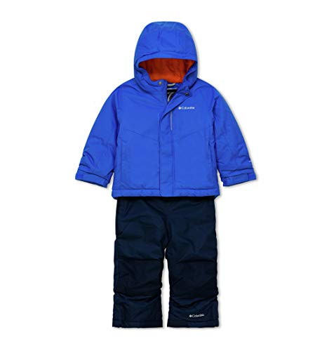 Columbia Toddlers' Snow Set, Buga, Super Blue, 4T