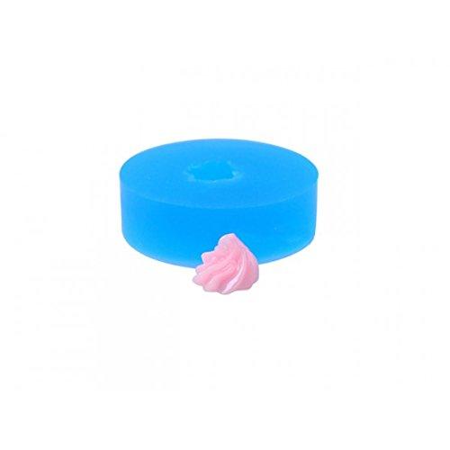 orm Miniatur Chantilly Sahne 9,3mm für Kreationen Fimo (Miniatur-backformen)
