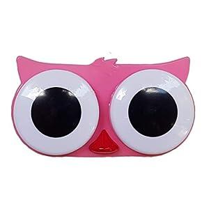 Kontaktlinsenbehälter – Süßer Kontaktlinsenbecher – Monatslinsen – Weiche & Harte Linsen – Tiere (Frosch, Teddy, Küken, Eule) – 5 Farben – MW Kontaktlinsenbehälter