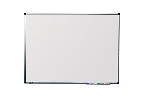 Legamaster 7-102048 Whiteboard Premium Wandmontage mit Langlochsystem, 100 x 75 cm