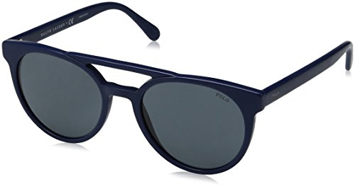 Ray-Ban 0PH4134, Occhiali da Sole Uomo, Blu (Vintage Navy Blue), 53