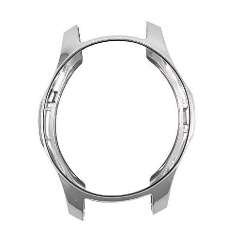 TOOGOO TPU Uhr Fall Abdeckung Protektor STO?f?nger Rahmen FüR Galaxy Uhr 42mm (Silber)
