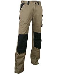 Pantalon bicolore avec poches genouillères- Hommes
