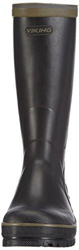 Viking Balder, Bottes en caoutchouc non-fourrées, tige haute mixte adulte Noir - Schwarz (Black/Multi 250)