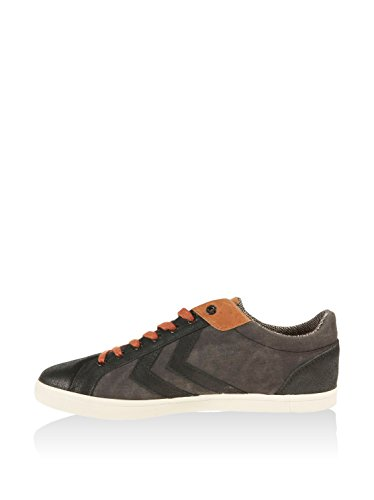 Hummel Deuce Court Winter, Scarpe da Ginnastica Unisex – Adulto Carbón / Marrón