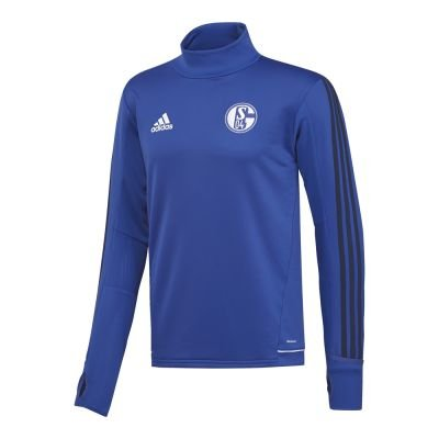 adidas S04 Schalke 04 Herren Training Top 17/18 - BS4966, Größe:XL