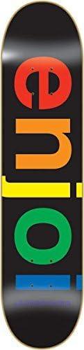 Enjoi Spectrum nero Deck 8.0 Resin Resin Resin 7 Skateboard Decks by Enjoi Skateboards B01KILDP5W Parent | Design ricco  | A Basso Costo  | Prima Consumatori  | Discount  | Chiama prima  | Ottima qualità  150ec8