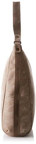 Timberland Tb0m5502, Borsa a Spalla Donna, 11x37x34 cm (W x H x L) Marrone (Flint)