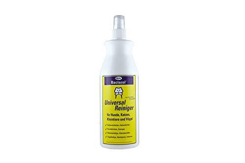 Natürliche Desinfektionsmittel Reiniger (Quiko Bactazol Universalreiniger, für Hunde, Katzen, Kleintiere und Vögel, mit frischem Zitrusduft, Flasche mit Sprühkopf, 500ml)