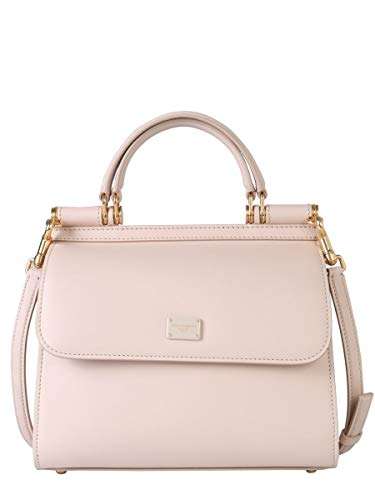 DOLCE E GABBANA Damen Bb6622av38580412 Rosa Leder Handtaschen