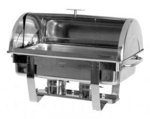 Saro 213-4070 Chafing Dish mit Rolldeckel, 1/1 GN, DENNIS Test