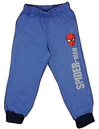 20ad80bc0ee7f8 Marvels Spiderman Freizeithose Spielhose Jogginghose Hose Trainingshose für Junge  Kinder Baby Baumwolle Blau in 98 104