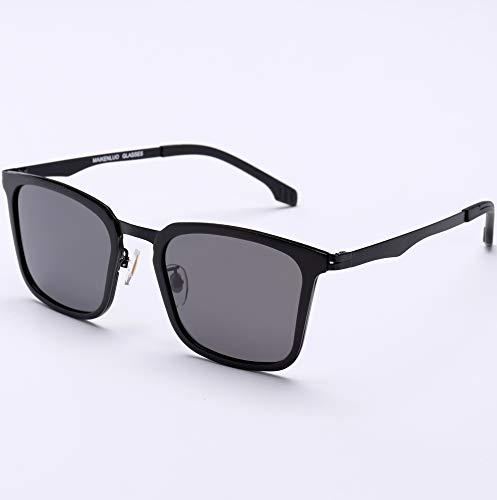 CFLFDC Sonnenbrillen Quadratische Polarisierte Sonnenbrille Für Männer Und Frauen, Mit Uv400 Schutz Für Den Outdoor-sport der Flugschreiber