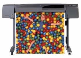 HP DesignJet 800 im A0+ Format