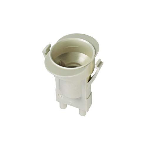 Lampenfassung für E14 Gewindelampe 250V Original Bosch Siemens 10007365 Dunstabzugshaube passend auch Küppersbusch 537386 bis zu 2 in einem Gerät 39 x 36 x 46 mm