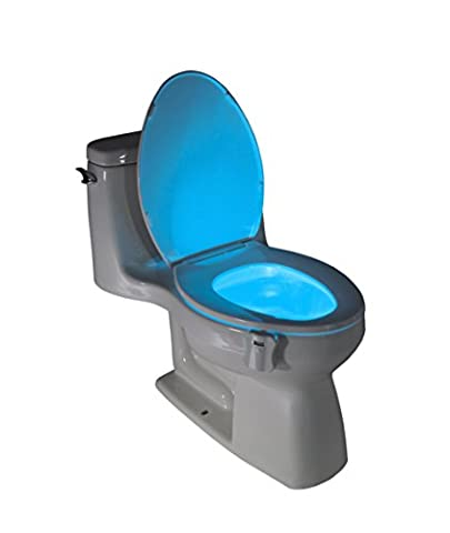 GlowBowl -The Original Motion Activated Toilet NightLight (Fits ANY Toilet)