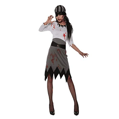 Halloween Party Show Kostüme Karibik Pirat Cosplay Kostüme Knielang Kostüm für Party Cosplay