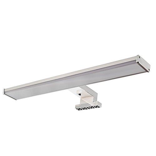 SEBSON LED lampada da specchio, Specchio Armadio Lampada da bagno, IP44, Bianco neutro 4000K, 400X 106X 40mm, 8W, 600lm