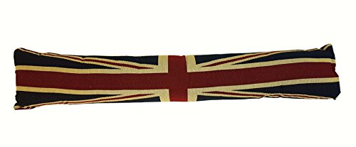 Tapiz Union Jack Rojo Azul Bandera Burlete Terciopelo Cojín 90 x 20cm - HTL 2