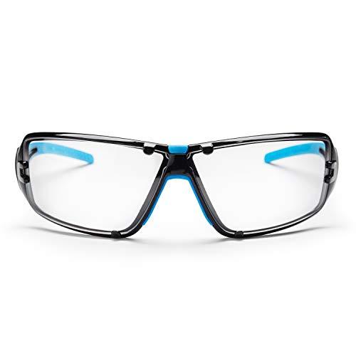 SolidWork Profi Schutzbrille mit integriertem Seitenschutz, sowie beschlagsfreien, kratzfesten und...