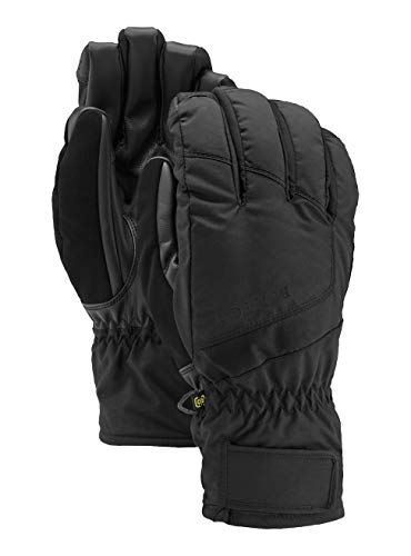 Burton profile under guanti, uomo, true black, l