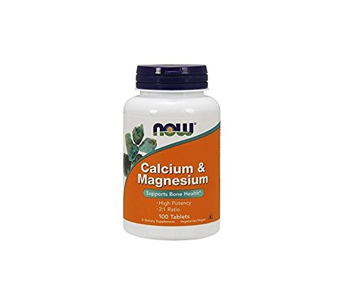 NOW Foods Calcium & Magnesium, 100 tablets