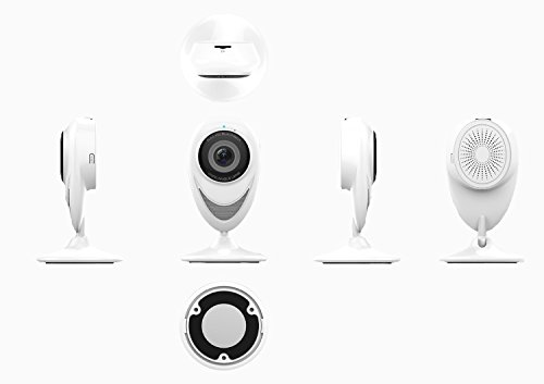 Wireless Wlan/Wifi IP Kamera, 1080P HD Überwachungskameras Kamera mit Infrarot Day & Night, Stereo...