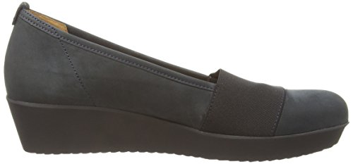 Gabor Freeway, Ballerines Femme Bleu (dark Blue Nubuck)