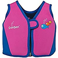 Swimbest - Baby/Kinder - Schwimmjacke / Schwimmweste aus Neopren, Orange , 16 Monate - 3 Jahre (Bis zu etwa 20 kg)