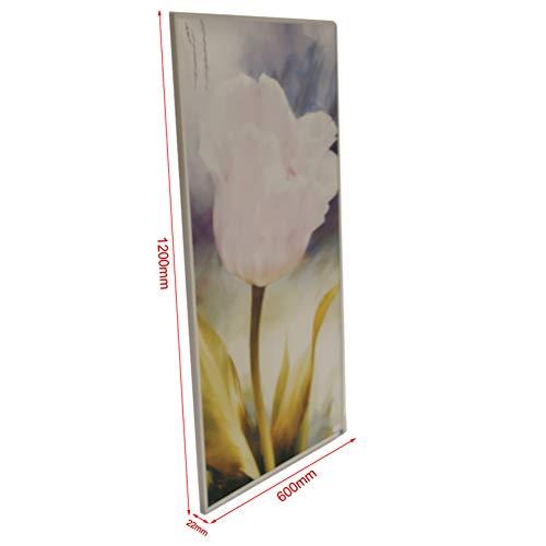 Infrarot-Heizung-Panel Raumheizung Elektrische Heizungen 720watt Tulpe Weiß Rahmen kaufen  Bild 1*