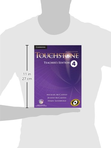 Touchstone Level 4 Teacher's Edition with Assessment Audio CD/CD-ROM  Second Edition