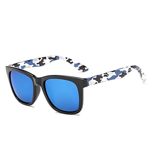 LKHJ Sonnenbrillen Camouflage Sonnenbrillen Herren Und Damen Vielseitige Sonnenbrillen Trend Square Driving Sunglasses Men