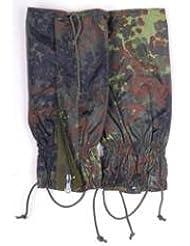 La de las Bundeswehr alemanas polainas con protección contra la humedad con protección contra la humedad polainas para botas en varios colores