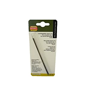 Proxxon 28118Super Cut Coping Saw Blades Fine Toothed Without Horizontal Pen Pack of 12