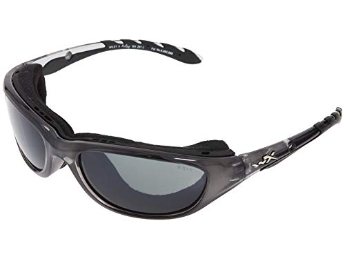 Wiley X Schutzbrille Unisex Airrage Sonnenbrille, unisex, Airrage, Crystal Metallic, S/M