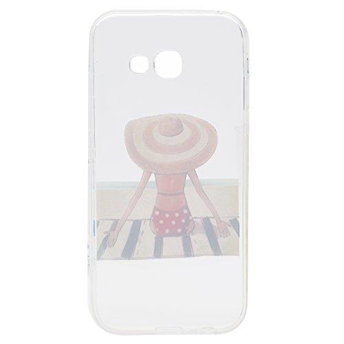 Qiaogle Téléphone Coque - Soft TPU Silicone Housse Coque Etui Case Cover pour Apple iPhone 5 / 5G / 5S / 5SE (4.0 Pouce) - QI12 QI14