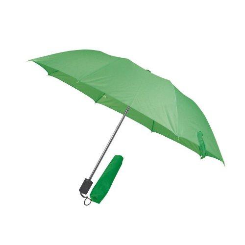 Taschenschirm Regenschirm - Farbe grün - Durchmesser ca. 81 cm