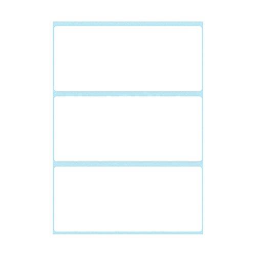 Herlitz 830240libro etiquetas, tipo libro, autoadhesivas 36 x 82 mm