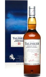 TALISKER 25 Year Old Island Malt Whisky 70cl Bottle by Talisker