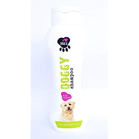 I Love Dog´s Hundeshampoo gegen Geruch Mit Macadamia-öl 300ml zur Wohlfühlpflege. Auch für Welpen, Hautfreundlich…