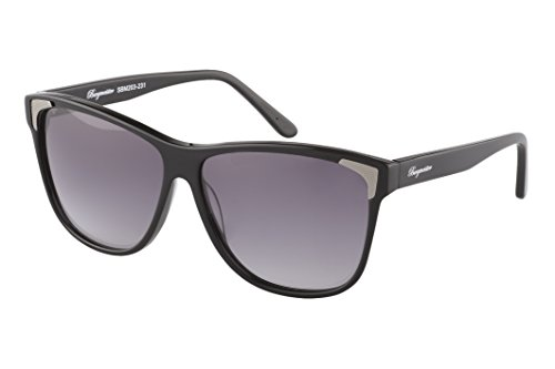 Schöne Marken Sonnenbrille für Damen von Burgmeister mit 100% UV Schutz | Sonnenbrille mit stabiler Polycarbonatfassung, hochwertigem Brillenetui, Brillenbeutel und 2 Jahren Garantie | SBM203-231