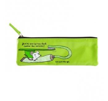 'Astuccio per spazzolino 'Un Dente–Verde–DLP