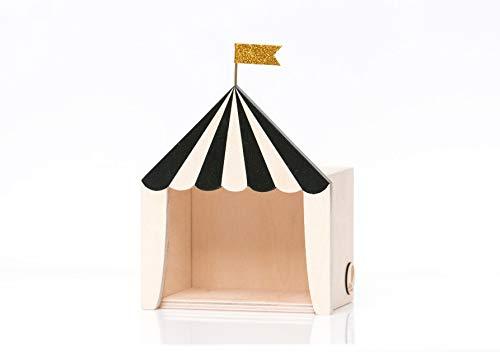 Bis Warschau 714131401185The Big Top Mini Circus Box, schwarz aus Holz (Richtung, Eine Die Ich-geschenk-set Sie In Und)