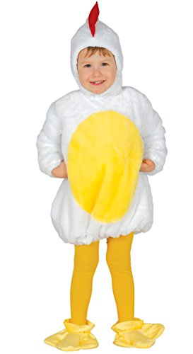 Guirca-Kostüm Küken Baby, Größe 12-24Monate (83309.0) (Baby Küken Kostüm)